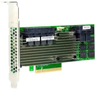 LSI MegaRAID SAS9361-24I (05-50022-00) (PCI-E 3.0 x8, LP) SGL SAS 12G, RAID 0,1,5,6,10, 50,60, 24port (6*intSFF8643), 4GB onboard, Каб.отдельно