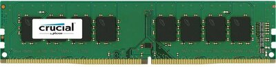 Crucial by Micron DDR4 4GB 2400MHz UDIMM (PC4-19200) CL17 SRx8 1.2V (Retail)