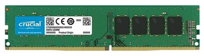 Crucial by Micron DDR4 16GB 2666MHz UDIMM (PC4-21300) CL19 DRx8 1.2V (Retail)
