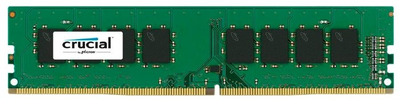 Crucial by Micron DDR4 4GB 2666MHz UDIMM (PC4-21300) CL19 SRx8 1.2V (Retail)
