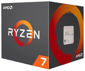 CPU AMD Ryzen X8 R7-1700 Summit Ridge 3000MHz AM4, 95W, YD170XBCAEWOF без кулера BOX
