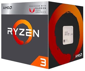 CPU AMD Ryzen X4 R3-2200G Raven Ridge 3500MHz AM4, 65W, YD2200C5FBBOX BOX