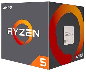 CPU AMD Ryzen X6 R5-1600 Summit Ridge 3200MHz AM4, 65W, YD1600BBAEBOX BOX
