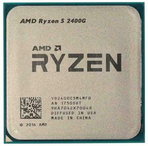 CPU AMD Ryzen X4 R5-2400G Raven Ridge 3600MHz AM4, 65W, Radeon RX Vega, YD2400C5M4MFB OEM