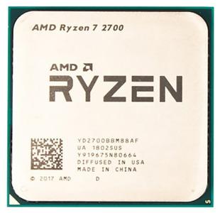 CPU AMD Ryzen X8 R7-2700 Pinnacle Ridge 3200MHz AM4, 65W, YD2700BBM88AF OEM