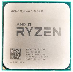 CPU AMD Ryzen X6 R5-1600X Summit Ridge 3600MHz AM4, 95W, YD160XBCM6IAE OEM
