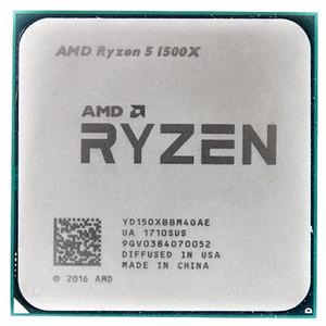 CPU AMD Ryzen X4 R5-1500X Summit Ridge 3500MHz AM4, 65W, YD150XBBM4GAE OEM