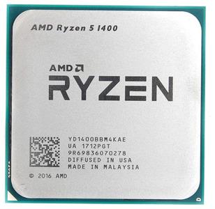 CPU AMD Ryzen X4 R5-1400 Summit Ridge 3200MHz AM4, 65W, YD1400BBM4KAE OEM