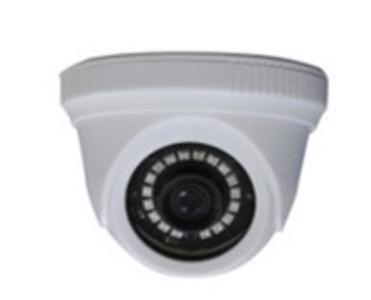 """Купольная, универсальная 1080P видеокамера 4 в 1 (AHD, TVI, CVI, CVBS) с функцией «День/Ночь»; 1/2.9"""" F23 CMOS сенсор, разрешение 1920 х 1080, 2D/3D DNR, UTC, DWDR; Объектив f=3.6 мм. ИК подсветка до"""