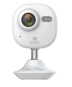 Ezviz Mini Plus черная 2Мп внутренняя Wi-Fi камера c ИК-подсветкой до 10м 1/2.7'' CMOS матрица; объектив 2.8мм; угол обзора 135°; 30 к/сек при 1920х1080; ИК-фильтр; 0.02лк @F2.2; HDR 120 db; встроенны