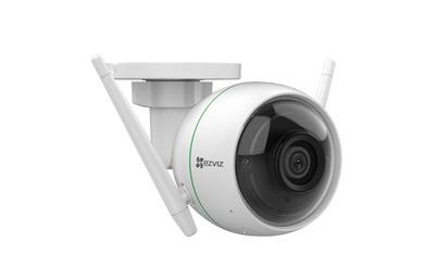 Ezviz C3WN 1080p 2Мп внешняя Wi-Fi камера c ИК-подсветкой до 30м 1/2.9'' CMOS матрица; объектив 2.8мм; угол обзора 110°; ИК-фильтр; 0.02лк @F2.0; DWDR, 3D DNR; встроенный микрофон; поддержка microSD д