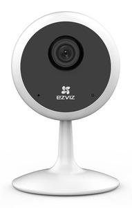 Ezviz C1C 720P 1Мп внутренняя Wi-Fi камера c ИК-подсветкой до 12м 1/4'' CMOS матрица; объектив 2.8мм; угол обзора 92°(горизонтальный), 110°(диагональный);20 к/сек при 1280х720; ИК-фильтр;2.4ГГц Wi-Fi;
