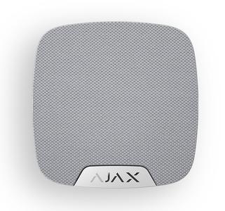 AJAX HomeSiren White (Беспроводная домашняя сирена, белая)
