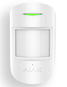 AJAX MotionProtect White (Датчик движения с иммунитетом к животным, белый)