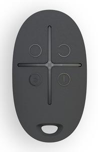 AJAX SpaceControl Black (Брелок с тревожной кнопкой, чёрный)