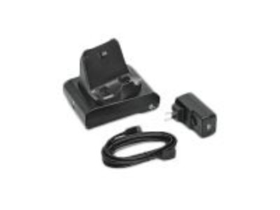 Zebra ASSY: 1-slot printer docking cradle; ZQ300 Series; Includes type A to Type C USB Cable