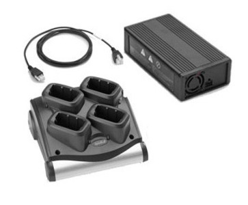 Zebra MC9000 4 - BATTERY CHARGER KIT, Energy Star Includes L6 Power Supply PWR-BGA12V50W0WW and DC cable CBL-DC-395A1-01