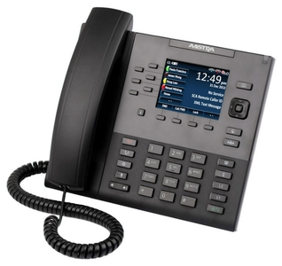 MITEL AASTRA terminal 6867i w/o AC adapter (SIP-phone, optional PS)