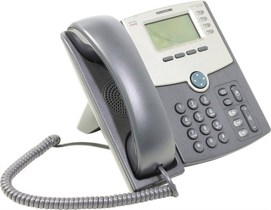 4 Line IP Phone With Display, PoE and PC Port-Crypto Disable