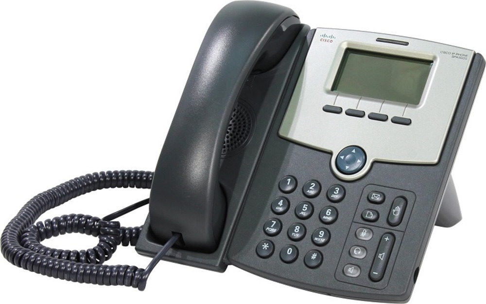 1 Line IP Phone With Display, PoE, PC Port- Crypto Disabled