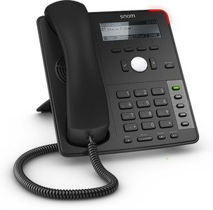 SNOM Global 700 Desk Telephone Black