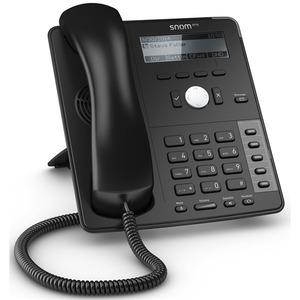 SNOM Global 710 Desk Telephone Black