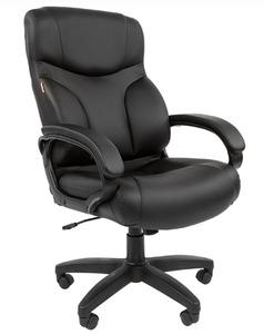 Офисное кресло Chairman 435 LT Россия экопремиум черная (NA)