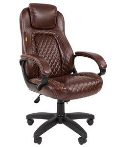 Офисное кресло Chairman 432 Россия экопремиум коричневая N
