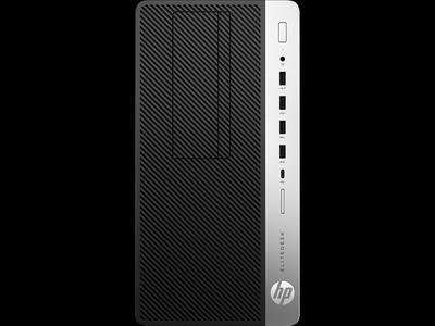 HP EliteDesk 705 G4 MT AMD Ryzen 5 Pro 2400G (3.6-3.9GHz,4 Cores),8Gb DDR4-2666(1),256Gb SSD,DVDRW,USB Slim Kbd+USB Mouse,DP,3y,Win10Pro