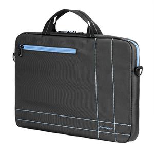 Компьютерная сумка Continent (15.6) CC-201GB, цвет серый с голубым