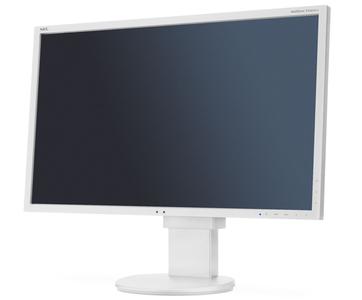 """NEC 22"""" EA223WM LCD S/Wh ( TN; 16:10; 250cd/m2; 1000:1; 5ms; 1680x1050; 170/160; D-sub; DVI-D; DP; USB; HAS 130mm; Tilt; Swiv 170/170; Pivot; Human Sensor; Spk 2х1W )"""