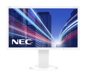 """NEC 21.5"""" E224Wi LCD S/Wh ( IPS; 16:9; 250cd/m2; 1000:1; 6ms; 1920x1080; 178/178; D-Sub; DVI-D; DP; HAS 110mm; Tilt; Swiv 45/45; Pivot )"""