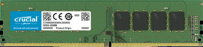 Crucial by Micron DDR4 8GB 2666MHz UDIMM (PC4-21300) CL19 1.2V (Retail) (Analog CT8G4DFS8266)