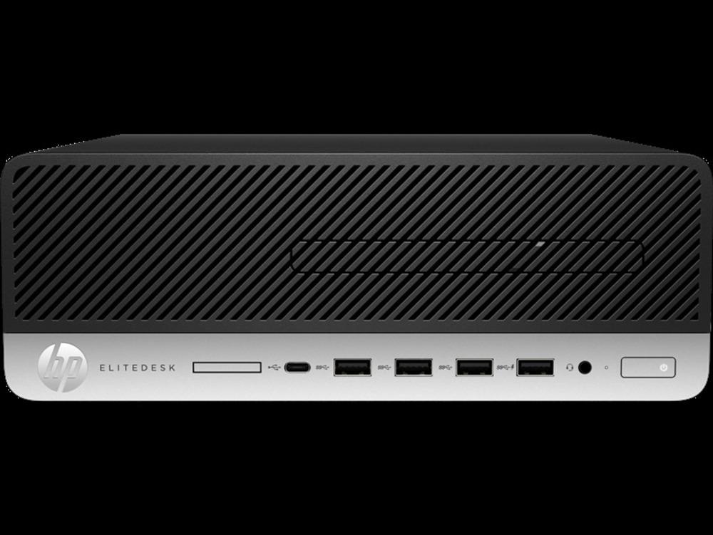 HP EliteDesk 705 G5 SFF AMD Ryzen 3 Pro 3200G (3.6-4.0GHz,4 Cores),8Gb DDR4-2666(1),256Gb SSD,DVDRW,USB Slim Kbd+USB Mouse,3y,Win10Pro