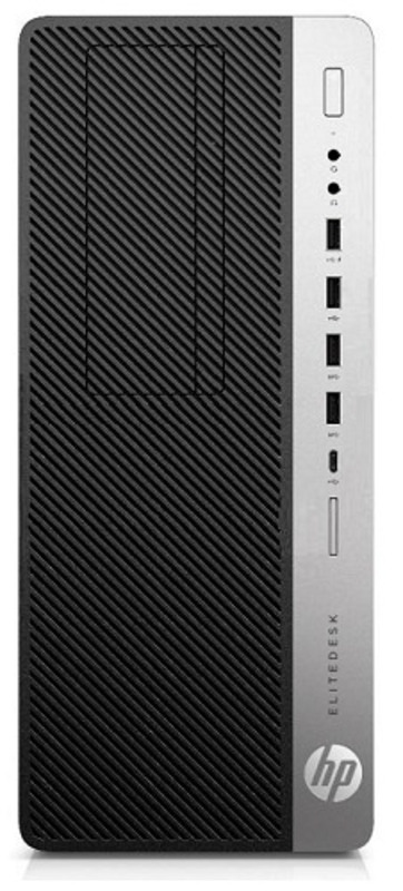 HP EliteDesk 800 G4 TWR Core i7-8700k 3.7GHz,16Gb DDR4-2666(2),512Gb SSD+2Tb 7200,nVidia GeForce RTX 2080 8Gb GDDR6,DVDRW,CR,USB Conf Kbd+Laser Mouse,500W Gold,Dust Filter,Lock+Int.Sensor,3y,Win10Pro