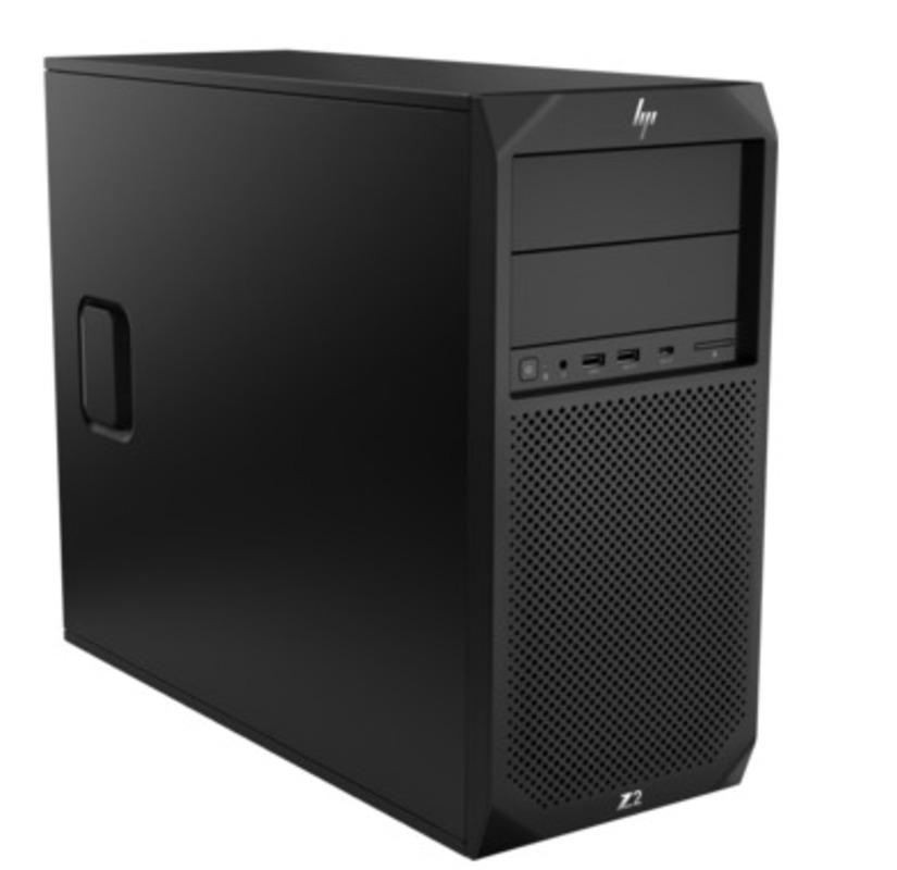 HP Z2 G4 TW, Core i7-8700K, 8GB (1x8GB) DDR4-2666 nECC, 256 SSD, DVD-Writer, Intel UHD Graphics 630, mouse, keyboard, Card Reader, Win10p64