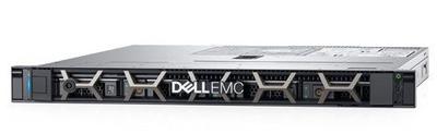 DELL PowerEdge R340 1U/ 4LFF/ E-2124 (4c, 3.3 GHz, 71W)/ 1x8GB UDIMM ECC/ PERC SoftWare/ 1x1 TB SATA/ 2xGE/ 1x350W/ iDRAC9 Exp/ DVDRW/ Bezel / Static Rails/ noCMA/ 3YBWNBD
