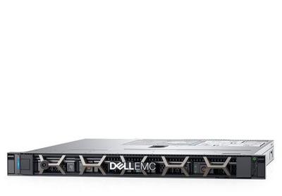 DELL PowerEdge R340 1U/ 8SFF/ E-2124 (4c, 3.3 GHz, 71`W)/ 1x8GB UDIMM ECC/ H330/ 1x1,2 TB 10k SAS/ 2xGE/ 1x350W/ iDRAC9 Exp/ DVDRW/ Bezel / Static Rails/ noCMA/ 3YBWNBD