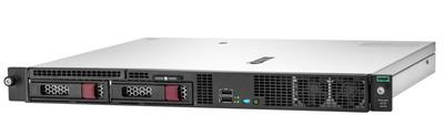 ProLiant DL20 Gen10 E-2124 NHP Rack(1U)/Xeon4C 3.3GHz(8MB)/1x8GBU1D_2666/S100i(ZM/RAID 0/1/10/5)/noHDD(2)LFF/noDVD/iLOstd(no port)/3Fans(NHP)/2x1GbEth/FricShortRK/1x290W(NHP)