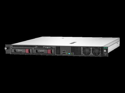 ProLiant DL20 Gen10 E-2224 NHP Rack(1U)/Xeon4C 3.4GHz(8MB)/1x8GBU1D_2666/S100i(ZM/RAID 0/1/10/5)/noHDD(2)LFF/noDVD/iLOstd(no port)/3Fans(NHP)/2x1GbEth/FricShortRK/1x290W(NHP), analog P08335-B21