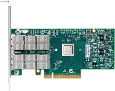 Mellanox ConnectX®-4 VPI adapter card, FDR IB 40/56GbE, single-port QSFP28, PCIe3.0 x8, tall bracket, ROHS R6