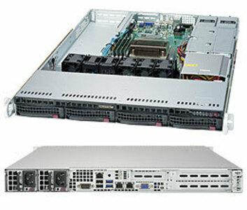 Supermicro SuperServer 1U 5019S-M no CPU(1) E3-1200v5/6thGenCorei3/ no memory(4)/ on board RAID 0/1/5/10/no HDD(4)LFF/ 2xGE/ 1xPCIEx8, 1xM.2 connector/ 1noRx350W
