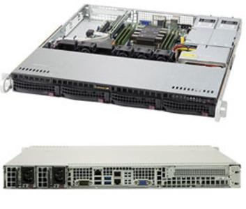 Supermicro SuperServer 1U 5019P-MR noCPU(1)Scalable/TDP 70-165W/ no DIMM(6)/ SATARAID HDD(4)LFF/ 2xGbE/1xFH, M2/ 2x400W