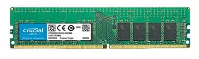Crucial by Micron DDR4 16GB (PC4-21300) 2666MHz ECC Registered SR x4 (Retail)