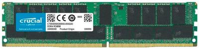Crucial by Micron DDR4 32GB (PC4-23400) 2933MHz ECC Registered DR x4, 1.2V CL21 (Retail) (Analog Micron MTA36ASF4G72PZ-2G9)