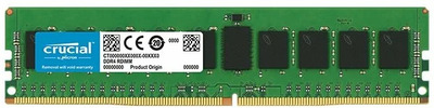 Crucial by Micron DDR4 8GB (PC4-21300) 2666MHz ECC Registered DR x8 (Retail)