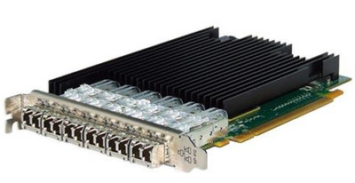 Silicom 10Gb PE310G6SPi9-XR Six Port SFP+ 10 Gigabit Ethernet PCI Express Server Adapter X16 Gen3 , Standard height short add-in card, Based on Intel 82599ES, Support Direct Attached Copper cable