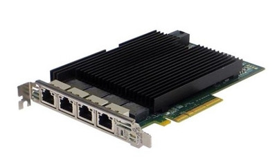 Silicom 10Gb PE310G4I40-T Quad Port Copper 10 Gigabit Ethernet PCI Express Server Adapter X8 Gen 3.0, Based on Intel X540, RoHS compliant