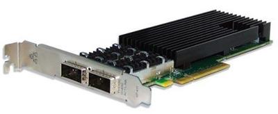 Silicom 40Gb PE340G2QI71-QX4 QSFP+ 40 Gigabit 2xPort Ethernet PCI Express Server Adapter X8 Gen3, Based on Intel XL710BM2, on board support for QSFP+, RoHS