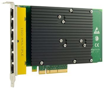 Silicom 1Gb PE2G6I35-R Six Port Copper Gigabit Ethernet PCI Express Server Adapter X8, PCI Express Gen2, Based on Intel i350, standard height, short PCI